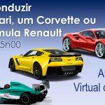 Vem conduzir um Ferrari no Estoril…